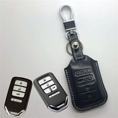 honda key fob cover leather key fob cover for honda civic 2016 cr v