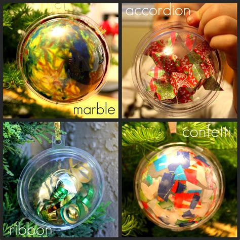 toddler approved 4 ways to decorate a plastic ornament
