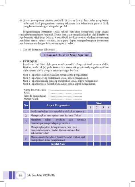 Buku Ulangan Smp Kelas Viii pkn smp kelas 8 buku guru kurikulum 2013