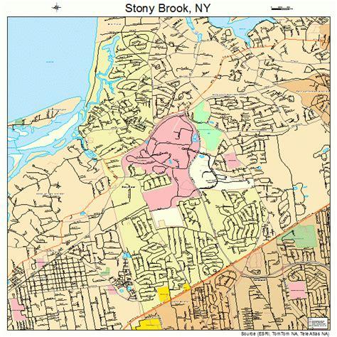stony brook map stony brook new york map 3671608