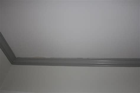 Going To The Bathroom Too Often Help Crown Molding Separating From Ceiling Worried About