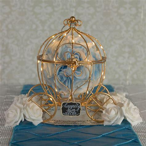 """(Discontinued) 11.5"""" Wire Frame Cinderella Pumpkin"""
