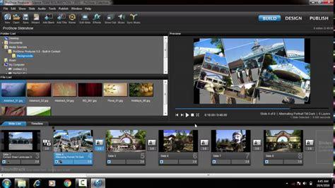 cara membuat video com tutorial cara membuat video dari foto proshow producer