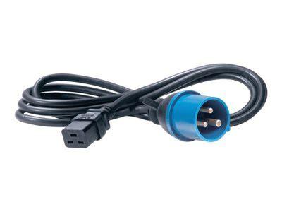 Apc Power Cord C13 To C14 2 5m apc ap9876 power cord c19 to iec309 16a 2 5m comms express