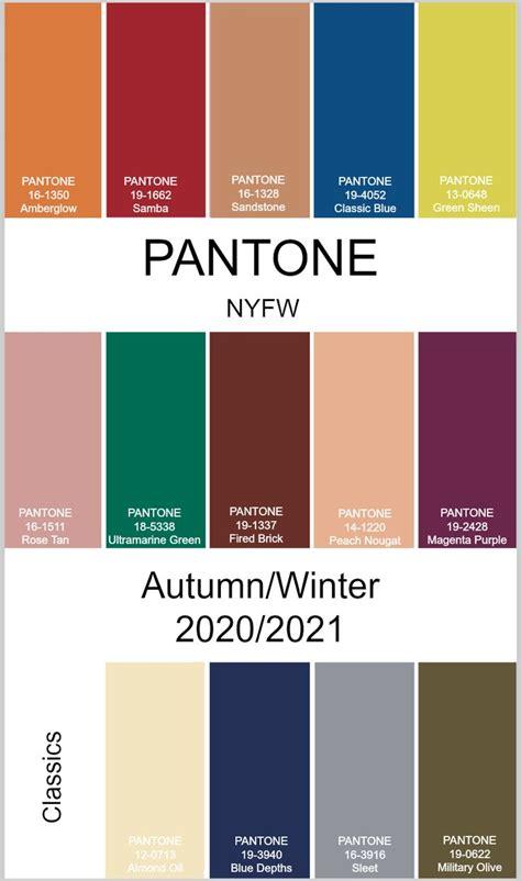 pantone autumnwinter   york fashion week