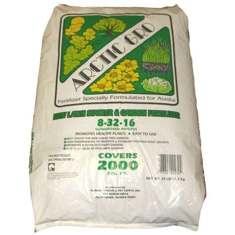 25 lb new lawn starter and garden fertilizer 46305090