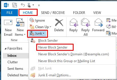 yahoo email block sender how to stop legitimate emails from being flagged as spam