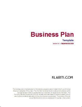 Business Plan Templates 40 Page Ms Word 10 Free Excel Spreadsheets Business Plan Cover Page Template Word