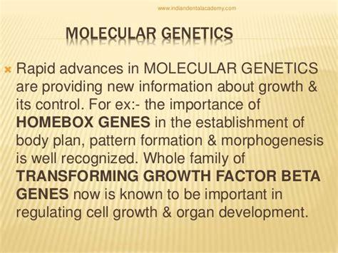 pattern formation morphogenesis growth development general concepts endodontic courses