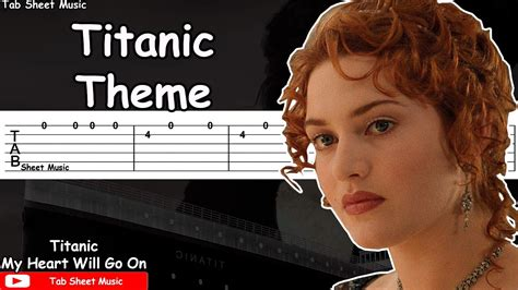 film titanic theme song titanic theme my heart will go on guitar tutorial youtube