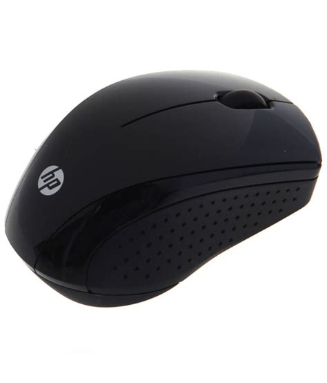 Mouse Hp X3000 hp x3000 wireless mouse black buy hp x3000 wireless