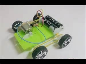 Simple Electric Car Design How To Build A Simple Car Robot Electric Motor Hd