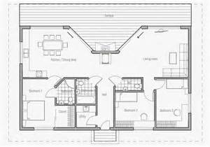 Vacation House Plans by Ch61 Small House Plan House Plans