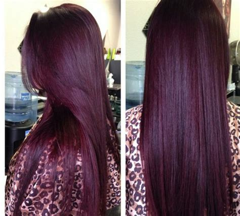 purple burgundy hair color hot hairdo shades of burgundy and hair trends for girls