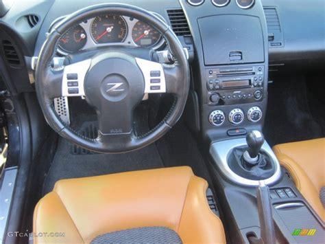 burnt orange leather interior 2006 nissan 350z touring coupe photo 41063587 gtcarlot com 2006 nissan 350z touring roadster burnt orange leather