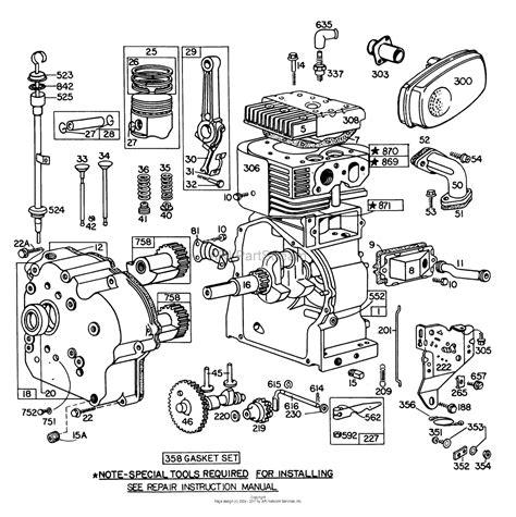 wonderful briggs and stratton 6 5 hp engine diagram ideas