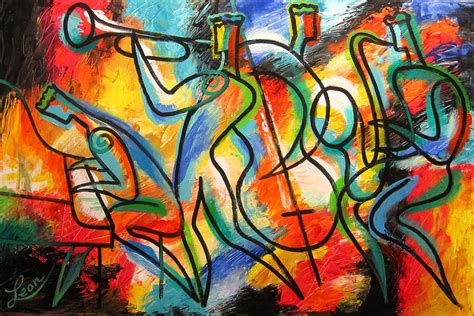 Charming Graffiti On Canvas #4: Avant-garde-jazz-leon-zernitsky.jpg