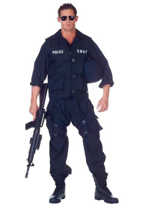 mens plus swat officer jumpsuit s