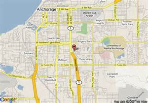 us map anchorage alaska map of residence inn by marriott anchorage midtown anchorage