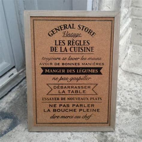 tableau memo cuisine tableau m 233 mo les r 232 gles de la cuisine cadeau maestro