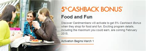 Discover Card Cashback Calendar Information About Discover 2015 Bonus Categories Announced