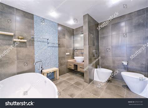 bathrooms in russia russia moscow region interior design bathroom stock photo