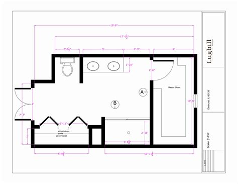 Ada Bathroom Designs by Bathroom Design Master Bathroom Design Layout Sketch