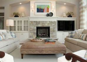 Living Room With Fireplace And Tv by Built Ins Around Fireplace Built Ins Around Fireplace