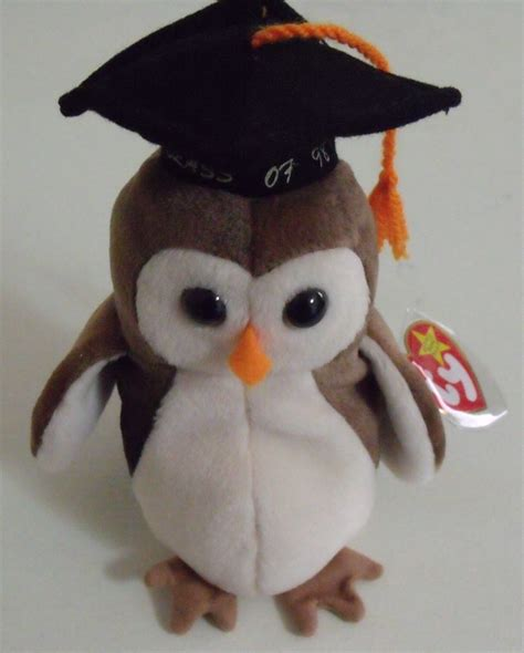 ty beanie babies owl ty beanie babies nwt wise the owl retired retired