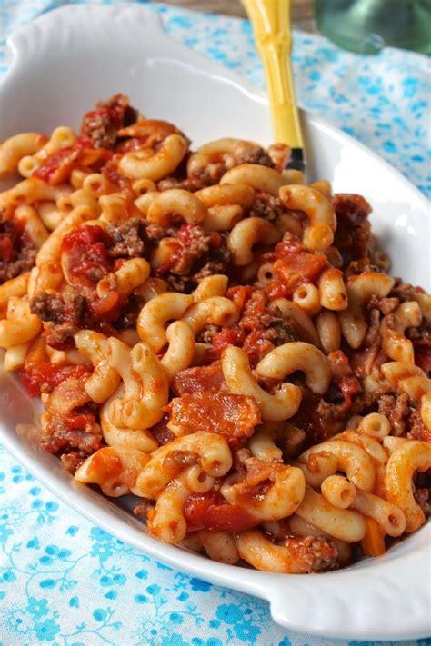 american chop suey ii recipe dishmaps