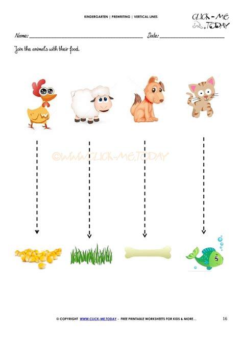 standing line pattern worksheets for kindergarten vertical lines worksheet 16