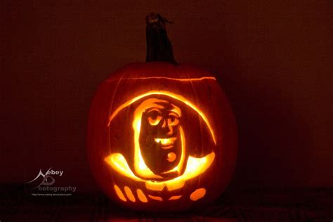 Buzz Lightyear Pumpkin Template pumpkin buzz lightyear by nebey on deviantart