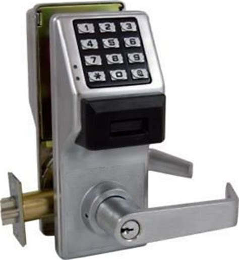 How To Change Commercial Door Lock by Alarm Lock Pdl3000 Prox Digital Lock In Schlage C Key