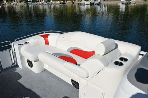 jc pontoon boat seats research 2014 jc pontoon boats tritoon classic 306 on