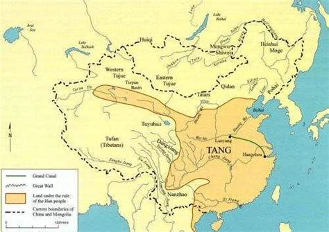 tang dynasty map july 2012 delving into history 174 periklis deligiannis