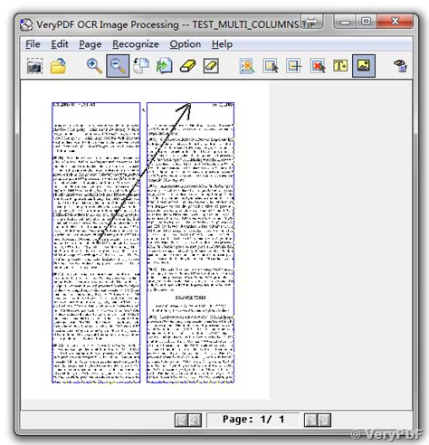 word layout two columns verypdf ocr sdk for developers document layout analysis