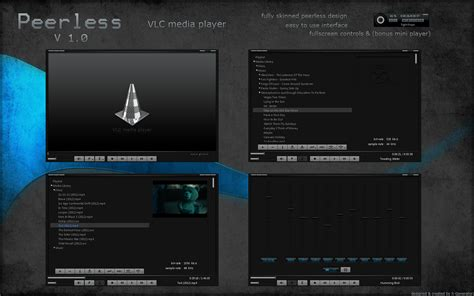themes vlc peerless vlc media player by x generator on deviantart