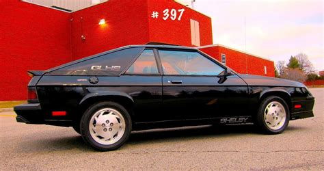 1987 dodge shelby charger the other glhs 1987 shelby charger