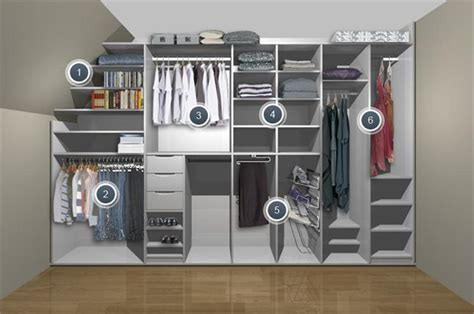 Fitted Wardrobe Storage Systems 17 best ideas about angled ceilings on angled