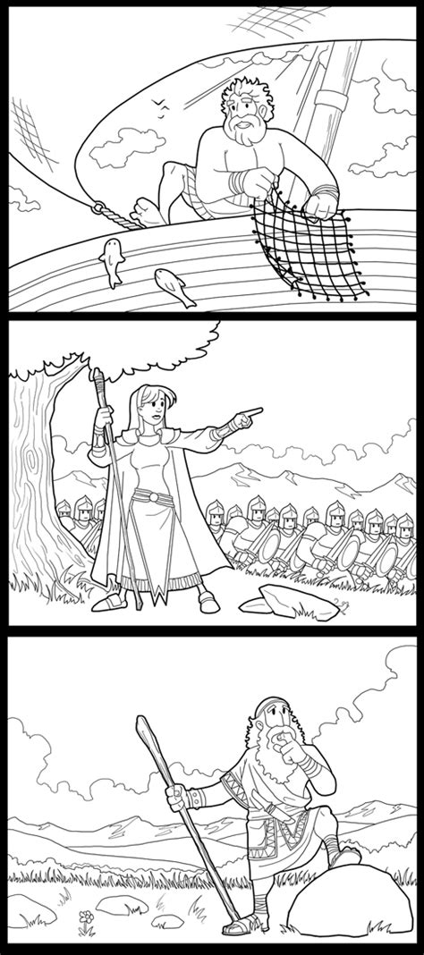 coloring pages of bible heroes new bible hero coloring pages by artistxero on deviantart