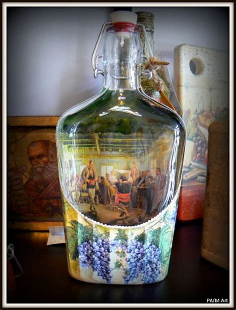 Decoupage On Glass - decoupage on glass creatyve ideas
