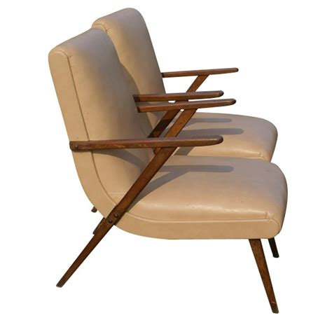 Retro Lounge Chair by 2 Vintage Italian Lounge Arm Chairs Manner Gio Ponti