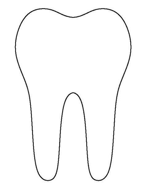 tooth templates free 1000 images about silhouette on vinyls