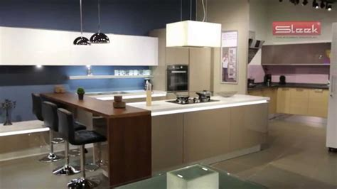 sleek kitchen sleek modular kitchens youtube