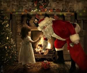 Santa claus with little girl by meeranuhm on deviantart