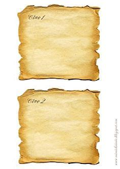 treasure hunt cards template 8 best images of printable treasure maps with clues