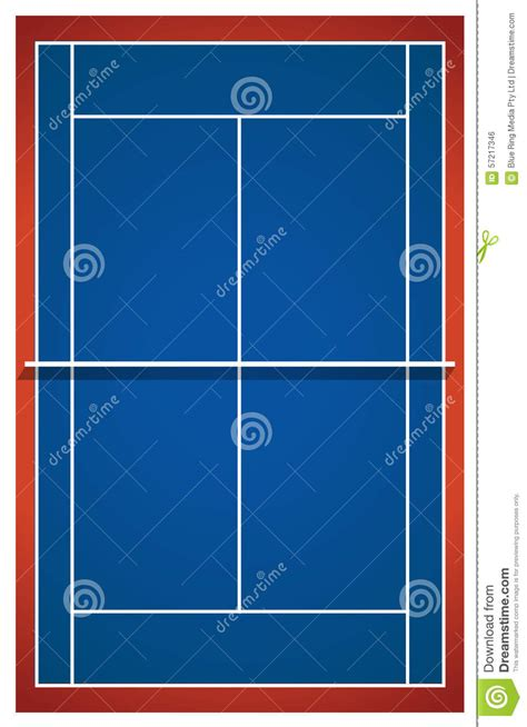 blue layout vector blue badminton court layout stock vector image 57217346