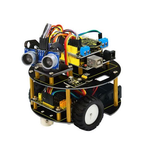 logo turtle robot kit uno r3 bluetooth l298n motor drive smart small turtle robot car kit