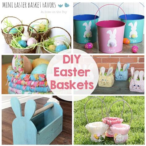 diy easter basket diy easter baskets the crafting