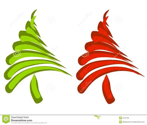abstract christmas tree clipart clipart suggest